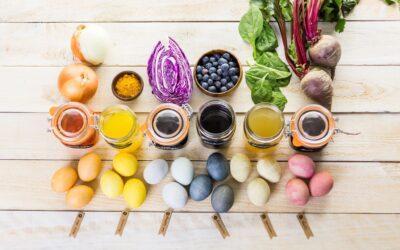 Как да боядисаме Великденските яйца с природни багрила